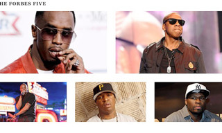 Forbes Five: Hip-Hop's Wealthiest Artists 2012