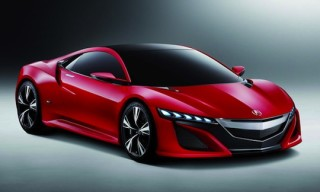 Acura NSX Concept – Red