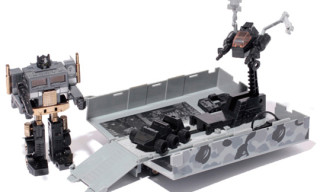 A Bathing Ape x Transformers Convoy aka Optimus Prime Toy Black Version