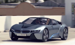 Video: BMW i8 Concept Spyder. Teaser.