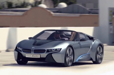 Video Bmw I8 Concept Spyder Teaser Highsnobiety