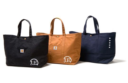 Carhartt x uniform experiment Tote Bags | Highsnobiety