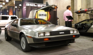 DMC 2013 Delorean Electric presented at New York Auto Show