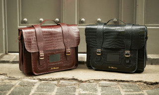 Dr. Martens Spring/Summer 2012 Crocodile Leather Accessories Collection
