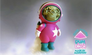 "Dum English x Made by Monsters ""Star-Skull Astronaut"" Toy"