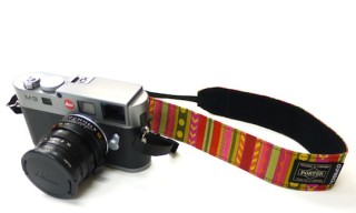 Gallery 1950 x Porter Mixed Pattern Camera Strap