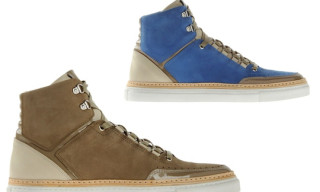 Giuliano Fujiwara High Top Sneakers Spring/Summer 2012