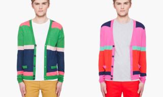 Marc by Marc Jacobs Color Block Cashmere Cardigans