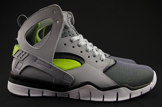 nike huarache high top green