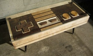 Nintendo NES Controller Coffee Table