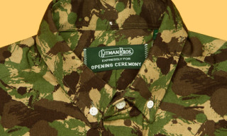 Opening Ceremony x Gitman Brothers Vintage 'African Camo' Collection