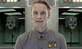 Meet David – The Next Generation Robot from Prometheus by Ridley Scott
