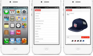 Supreme Launches iPhone Optimized Website
