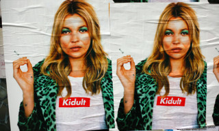Kidult Runs Fake Supreme x Kate Moss Poster Campaign in Paris