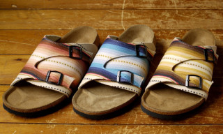 Tatami x Standard California 'Mexican Blanket' Pilica Sandals