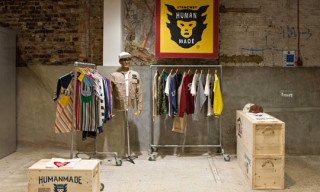 Human Made 'Cold Coffee' Installation at Dover Street Market