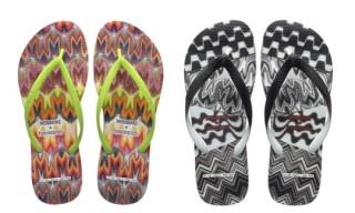 Missoni x Havaianas Flip-Flops