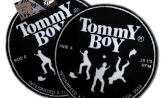 Tommy Boy Records x Interbreed Vinyl Room Mat