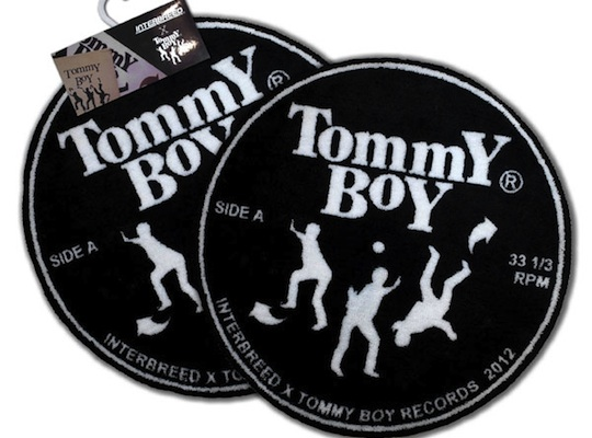 Tommy Boy Records X Interbreed Vinyl Room Mat Highsnobiety