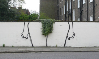 New Banksy Work – The Bush, I Hate This Font, Paper Crane & More