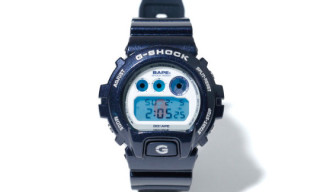 Bape x G-Shock DW-6900 'Blue Metallic'