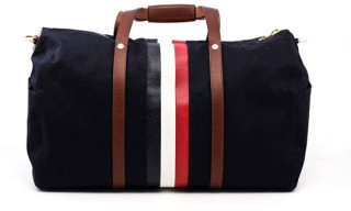 Brooks Brothers Black Fleece Mackintosh Duffle Bag