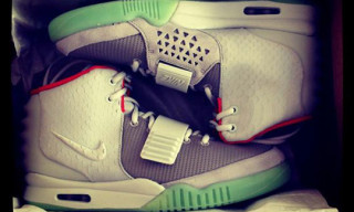 Celebrities Getting Their Nike Air Yeezy 2 Early