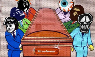 'Death of Streetwear' Mural by Sever
