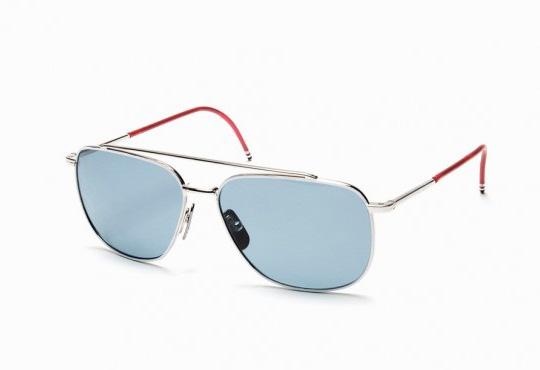 Thom Browne Sunglasses  dita x thom browne tb 100 pilot sunglasses highsiety