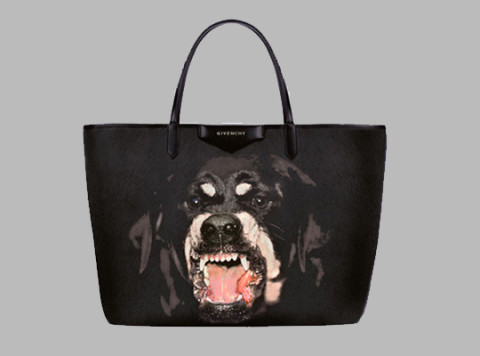 576d69d2fdf5 Yesterday we showed you the  Rottweiler  iPad case by Givenchy and here is  now a look at the matching tote bag from the Pre-Collection for Fall Winter  2012.