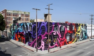 INSA – 9300 SQ FT Mural In Los Angeles