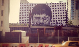 JR Mural at The High Line New York City
