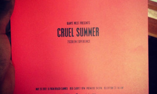 Kanye West's Cruel Summer Premiere at Cannes