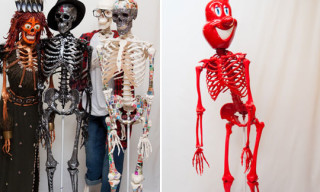 Kiehl's Skeletons Designed by Kenny Scharf, Frank Kozik, Terry Richardson, Alicia Keys & Others
