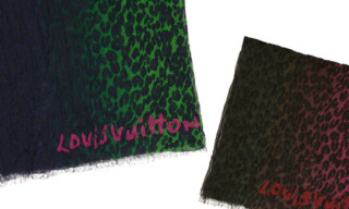 Louis Vuitton Leopard Stoles Pre-Fall 2012