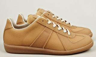 Maison Martin Margiela Enamel & Gum Military Sneakers