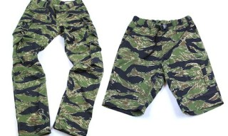 Mark McNairy for Standard – Tiger Camo Pants & Shorts