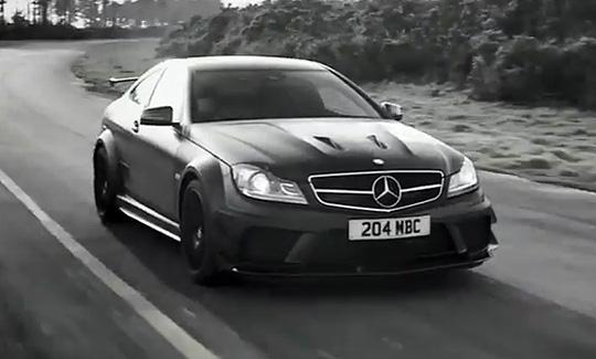 video mercedes benz dark side of the c63 amg black series highsnobiety