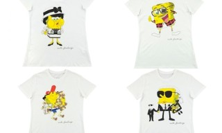 Mike Frederiqo Sponge Coco, Karl, Terry, Pharrell Tees