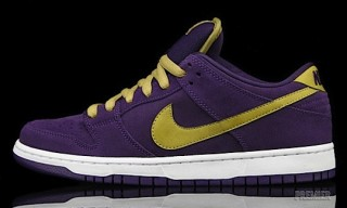 "Nike SB Dunk Low ""Crown Royal"""