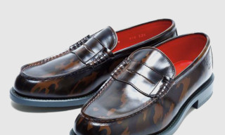 Regal Shoe & Co. Camouflage Penny Loafers