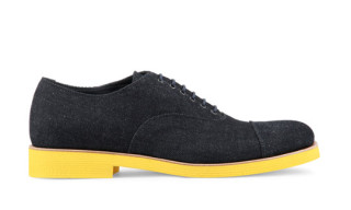 Sergio Rossi Denim Oxford Shoe