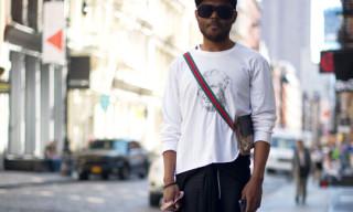 Street Style: Julien Alleyne in Maison Martin Margiela, Gucci & More