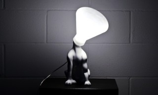 """""""Wish You Welcome"""" Lamp by D'alesio & Santoro"""