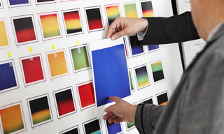 Hiroshi Sugimoto for Hermès: Polaroid Inspired Scarves