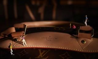 'Larger Than Life' Series for Louis Vuitton by Vincent Bousserez