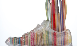 Transparent Shoe Sculptures by Haroshi