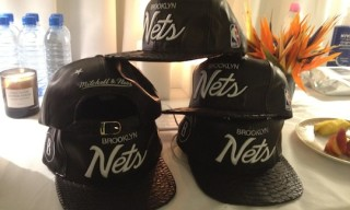 Brooklyn Nets x Mitchell & Ness Hats by Don C