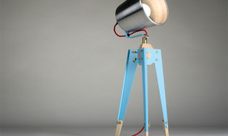 Frank Table Lamp by Oliver Hrubiak