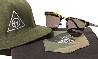 HUF x Ashbury Sunglasses, Snapback & Pocket T